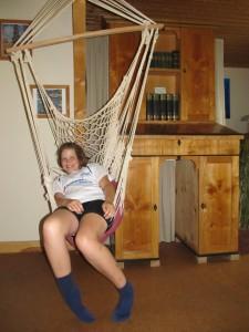 Auch Jana gefällt das Ferienhaus